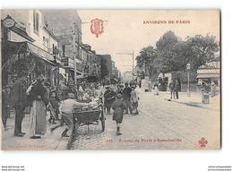 CPA 93 Romainville Avenue De Paris - Romainville