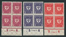 MiNr. 199 HAN H 7989.21 **, MiNr. 200 HAN H 7990.21 ** + MiNr. 201 HAN H 7991.21 ** - Unused Stamps