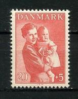 DANEMARK 1943 N° 292 ** Neuf MNH  Superbe Pour L'enfance Princesse Ingrid Et Sa Fille Margrethe - Nuovi