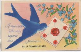 85 LA TRANCHE-sur-MER  Carte Système (Nozais) - La Tranche Sur Mer