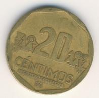 PERU 2010: 20 Centimos, KM 306 - Perú