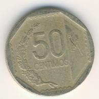 PERU 2008: 50 Centimos, KM 307 - Perú