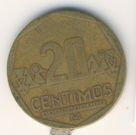 PERU 2004: 20 Centimos, KM 306 - Perú