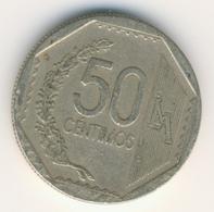 PERU 2003: 50 Centimos, KM 307 - Perú
