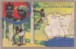 COLONIES FRANÇAISES LA CÔTE D'IVOIRE - Costa De Marfil