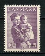 DANEMARK 1941 N° 277 ** Neuf MNH  Superbe Pour L'enfance Princesse Ingrid Et Sa Fille Margrethe - Nuovi
