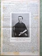 L'illustrazione Popolare 21 Agosto 1898 Lorenzo Perosi Bismarck Manila Famiglia - Voor 1900