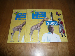 LE LIVRE DES TIMBRES FRANCE 2000  SANS LES TIMBRES - Stamps
