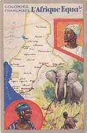 COLONIES FRANÇAISES CONGO Afrique-Équatoriale Française - Costa De Marfil