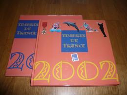 LE LIVRE DES TIMBRES FRANCE 2002 SANS LES TIMBRES - Stamps