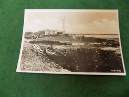 VINTAGE UK DORSET: STUDLAND Shell Bay B&w Boys In Boat - Other
