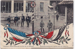 Frontière Franco-Allemande Au Col De La Schlucht - Dogana