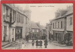 CPA: Corrèze - Meymac - Quartier Et Tour De L'horloge - Altri Comuni