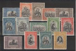 Portugal 1927  Série Tricentenaire De L'indépendance 439 à 452 14 Val ** MNH Manque Le 438 - Nuevos