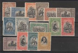 Portugal 1927  Série Tricentenaire De L'indépendance 438 à 452 15 Val * Charn. - Nuevos