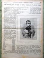 L'illustrazione Popolare 11 Settembre 1898 Disarmo Feste Moretto Brescia Manila - Voor 1900