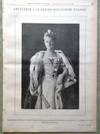 L'illustrazione Popolare 18 Settembre 1898 Amsterdam Regina Guglielmina D'Olanda - Voor 1900