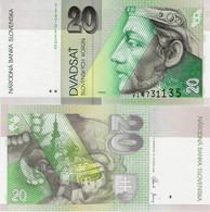 Slovakia 2006 - 20 Korun - Pick 20g UNC - Slovacchia