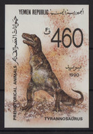 Yemen - BF N°3 - Faune - Animaux Prehistorique - Cote 6€ - ** Neuf Sans Charniere - Yemen