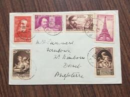 HE2700 France 1939 Lettre De Paris Pour Angleterre - France