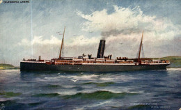 Orient Pacific Line Steamer RMS OMRAH - Paquebote