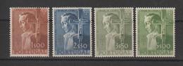 Portugal 1955 4ème Centenaire Sao Paulo 813 à 816 4 Val ** MNH - 1910-... République