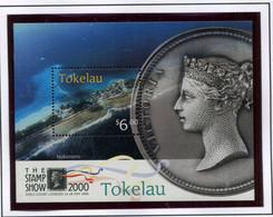 Tokelau 2000 Bf 29 Esposizione Filatelica A Londra Mnh - Tokelau