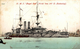 H.M.S. Royal Oak (14150 Tons 2nd Cl. Battleship) GREAT BRITAIN AND IRELAND - Guerra