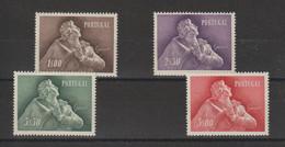 Portugal 1957 Hommage à L'écrivain JB Da Silva 837 à 840 4 Val ** MNH - 1910-... République
