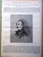 L'illustrazione Popolare 2 Ottobre 1898 Massimo D'Azeglio Imperatrice D'Austria - Voor 1900
