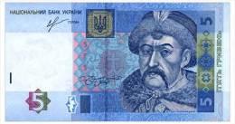 UKRAINE 5 HRYVEN 2013 SORKIN Pick 118d Unc - Ucrania