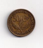 REF MON6 Monnaie Coin Cameroun Territoire Sous Mandat De La France 50 Centimes 1925 - Camerun