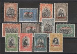 Portugal Acores 1927  Série Tricentenaire De L'indépendance 271 à 282 12 Val ** MNH - Azores