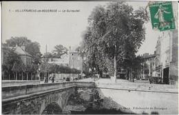 VILLERANCHE DE ROUERGUE : Le Guiraudet Animée - Pont  ( 1911 ) - Villefranche De Rouergue