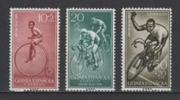 (S0622) SPANISH GUINEA, 1959 (Stamp Day. Bicycles). Complete Set. Mi ## 360-362. MNH** - Guinea Española