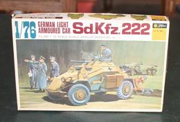 Modèle Réduit FUJIMI 1/76 Sd.Kfz 222 - Non Classés