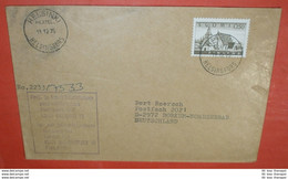 FINNLAND - Haus Kirche - Bauwerk -- Helsinki 11.12.1975 -- Brief Cover (2 Foto)(136546) - Briefe U. Dokumente
