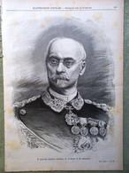 L'illustrazione Popolare 9 Ottobre 1898 Cosenz D'Azeglio Varo Puglia Fogazzaro - Voor 1900