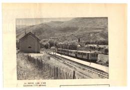 1952 - Iconographie - Err (Pyrénées-Orientales) - La Petite Gare - PRÉVOIR FRAIS DE PORT - Ohne Zuordnung