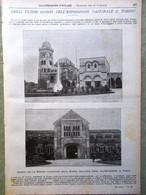 L'illustrazione Popolare 16 Ottobre 1898 Esposizione Di Torino Regina Danimarca - Voor 1900