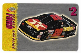Racing, NASCAR, Texaco Havoline Ford, Sprint $2 Calling Card, Expired In 1997, # Racing-20 - Sport
