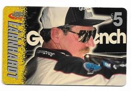 Racing, NASCAR, Dale Earnhardt, Sprint $5 Calling Card, Expired In 1997, # Racing-21 - Sport