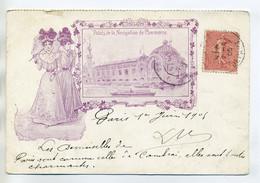 """MODE Elégantes Jeunes Femmes """" Palais Navigation De Commerce """" 1905    /D01-2018 - Mode"""