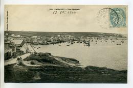29 CAMARET Sur MER Vilard 334- Vue De La Cote Port Bateaux Pecheurs 1904 Timb Dos Divisé       /D01-2018 - Camaret-sur-Mer