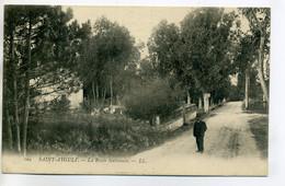 83 ST SAINT AYGULF LL 109- Homme Sur Route Nationale  Villa 1910     /D01-2018 - Saint-Aygulf