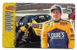 Racing, NASCAR, Brett Bodine, Sprint $5 Calling Card, Expired In 1997, # Racing-24 - Sport