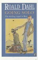 Postcard - Roald Dahl - Going Solo - New - Books