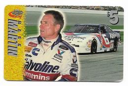 Racing, NASCAR, Mark Martin, Sprint $5 Calling Card, Expired In 1997, # Racing-25 - Sport