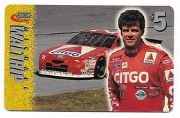Racing, NASCAR, Michael Waltrip, Sprint $5 Calling Card, Expired In 1997, # Racing-26 - Sport