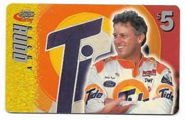 Racing, NASCAR, Ricky Rudd, Sprint $5 Calling Card, Expired In 1997, # Racing-28 - Sport
